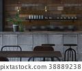 室內圖像咖啡館 38889238