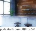 室內圖像咖啡館 38889241