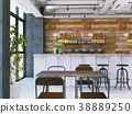 室內圖像咖啡館 38889250