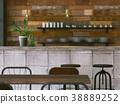 室内图像咖啡馆 38889252