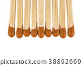 Matches isolated on white background 38892669