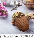 Homemade chocolate cookies Madeleine 38894159