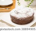 巧克力蛋糕 蛋糕 糕點 38894905