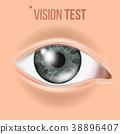 Human Eye Vector. Sight, Eyesight. Body Care 38896407