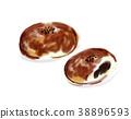 红豆饼 面包 小甜面包 38896593