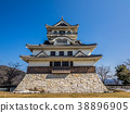 돗토리 현에있는 일본의 성 정식 명칭 丸山城 돈대에있는 아름다운 성 38896905