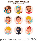 vector character people 38896977