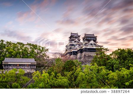 Kumamoto Castle Japan 38897264