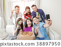 young people selfie happily 38897950