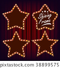 star, frame, vector 38899575