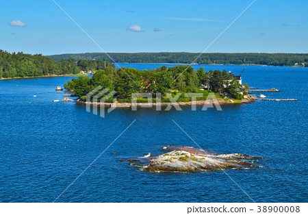 Stockholm Archipelago in Baltic Sea, Sweden 38900008