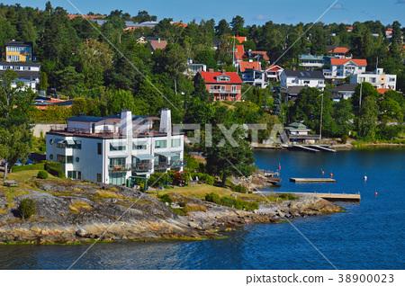 Stockholm Archipelago in Baltic Sea, Sweden 38900023