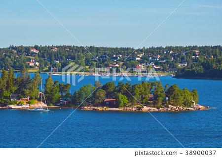 Stockholm Archipelago in Baltic Sea, Sweden 38900037