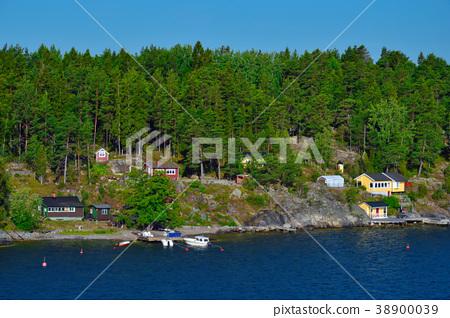 Stockholm Archipelago in Baltic Sea, Sweden 38900039