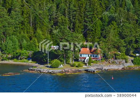 Stockholm Archipelago in Baltic Sea, Sweden 38900044