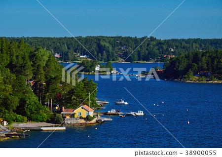 Stockholm Archipelago in Baltic Sea, Sweden 38900055