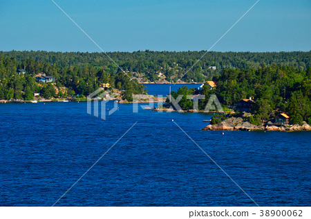 Stockholm Archipelago in Baltic Sea, Sweden 38900062