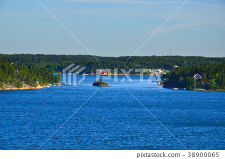 Stockholm Archipelago in Baltic Sea, Sweden 38900065