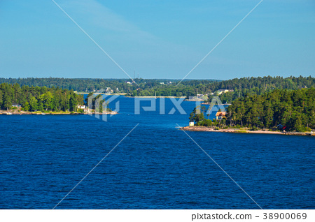Stockholm Archipelago in Baltic Sea, Sweden 38900069