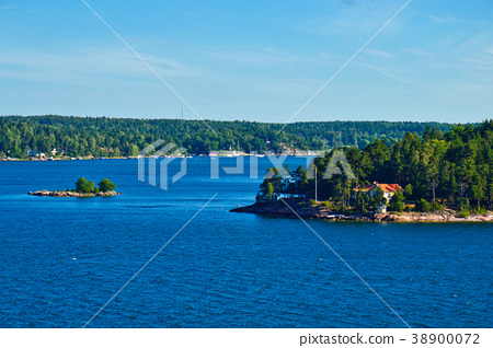 Stockholm Archipelago in Baltic Sea, Sweden 38900072