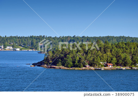 Stockholm Archipelago in Baltic Sea, Sweden 38900075