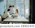 teamwork, discussion, business 38902445