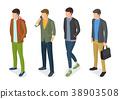 Stylish Men Models in Fashionable Apparels Jackets 38903508