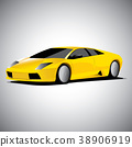 Realistic car vector illustration 38906919