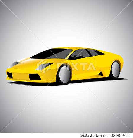 Realistic car vector illustration 38906919