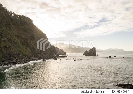 Basque coastline from San Juan de Gaztelugatxe 38907044