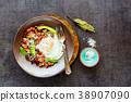 English Breakfast in plate 38907090
