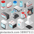 Household appliances vector kitchen homeappliance 38907311