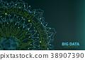 Big Data Visualization. Futuristic Infographic 38907390