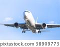 藍天和飛機 38909773