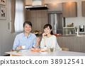 부부 식사 식당 라이프 스타일 이미지 38912541