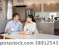 부부 식사 식당 라이프 스타일 이미지 38912543