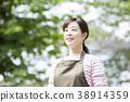 초상화 야외 미들 여성 38914359