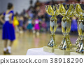 Cups and awards in ballroom dances 38918290