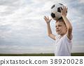 football, boy, ball 38920028