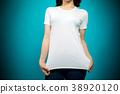 여성, 여자, 티셔츠 38920120