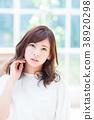 youthful, female, lady 38920298