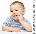 可愛的 嬰兒 寶寶 38920981