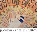 Euro (EUR) notes, European Union (EU) 38921825