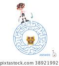 maze vector puzzle 38921992