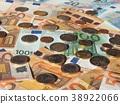 Euro notes and coins, European Union 38922066