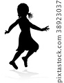Child Kid Silhouette 38923037
