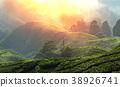 field, hill, landscape 38926741