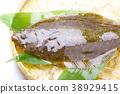 掙扎 魚 生魚片 38929415