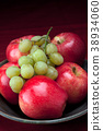 Apples and grapes. 38934060