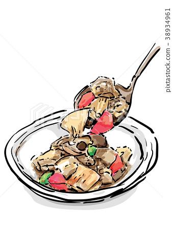 燉雞 日式料理 日本料理 38934961